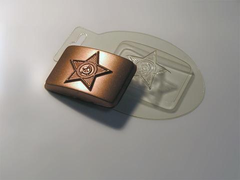 Форма для шоколада Бляха
