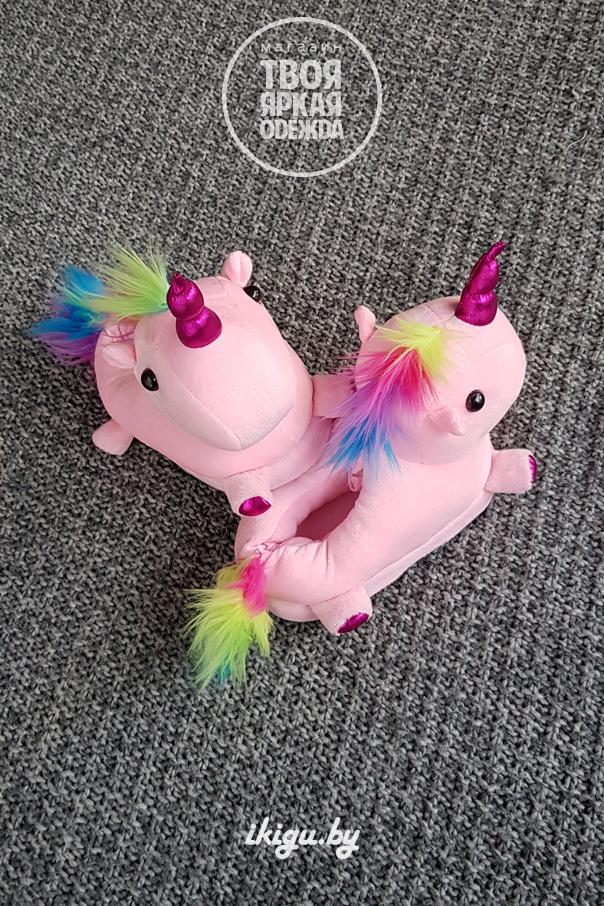 "Тапочки Тапочки ""Slippers Unicorn Розовые"" unicorn_det_roz.jpg"
