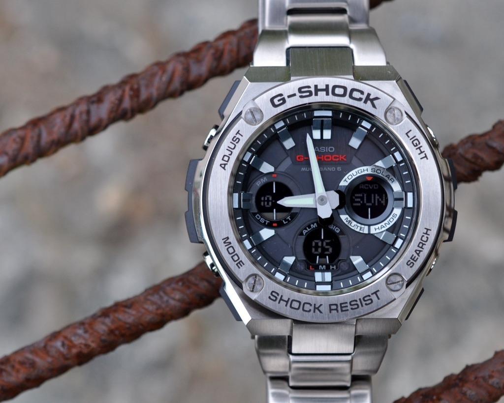 Casio G Shock Gst 210d 1a 1440000 200cp 9a