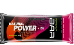 Батончик PowerUp Energate Bar - финики, клюква, фундук, кокос