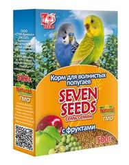 Корм для волнистых попугаев с фруктами Seven Seeds