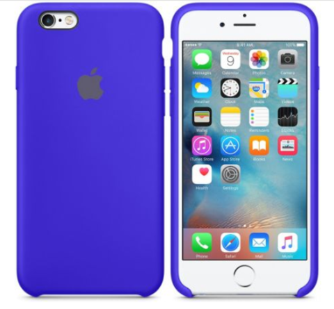iPhone 6/6s Silicone Case  Ультрамарин