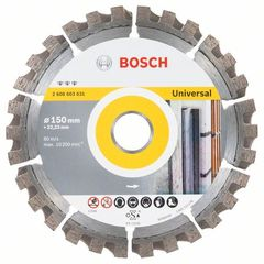 Алмазный диск Bosch Best for Universal 150х22,23 мм