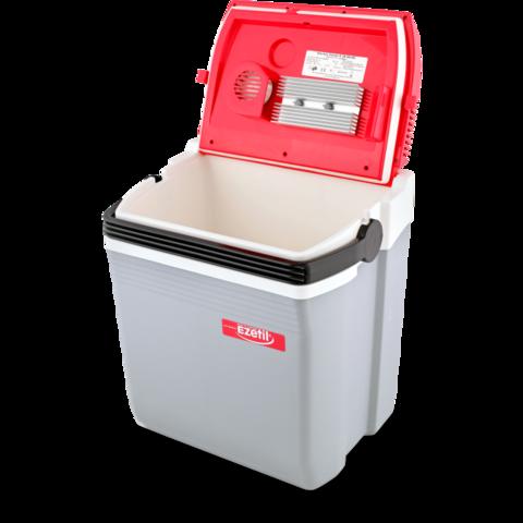 Термоэлектрический автохолодильник Ezetil E 28 (12V/220V, 28л)