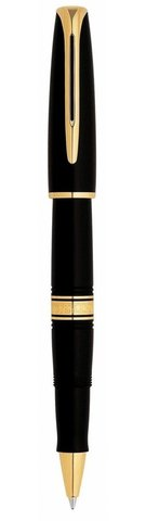 *Ручка-роллер Waterman Charleston, цвет: Black/GT, стержень: Fblk