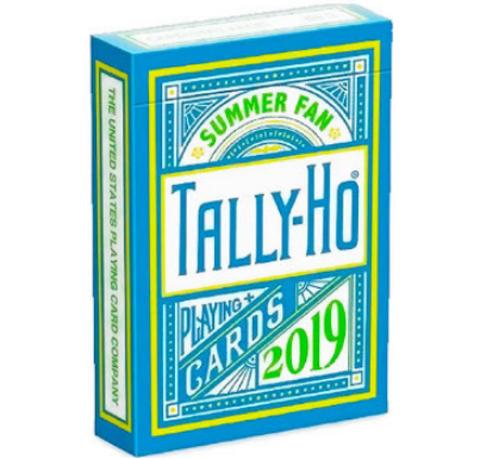 Карты Tally-Ho Summer Fan