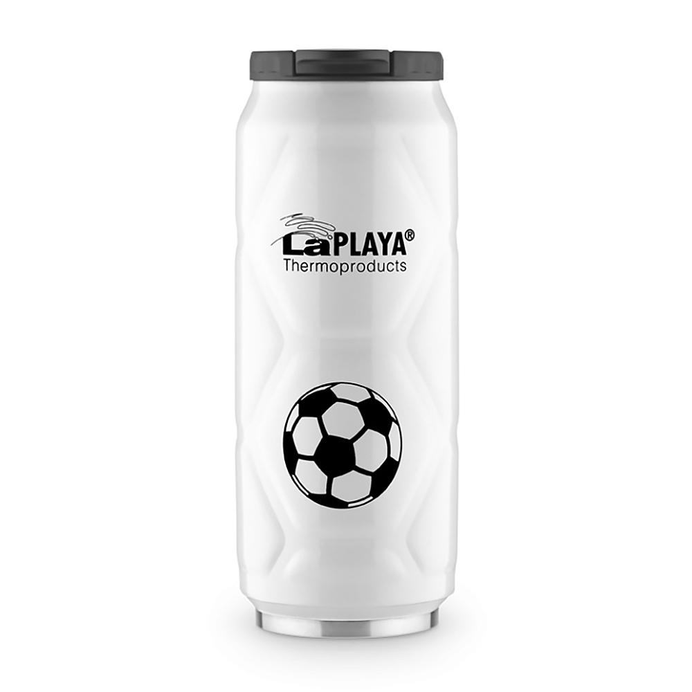 Термокружка La Playa Football Can (0.5 литра) белая