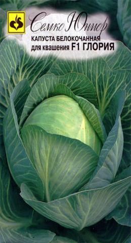 Семена Капуста белокочанная Глория F1, 30 сем