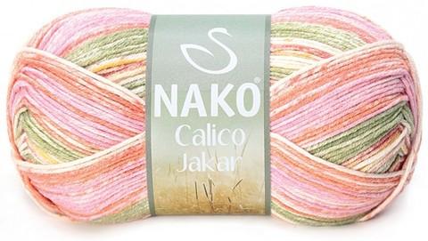 Пряжа Nako Calico Jakar арт. 31537