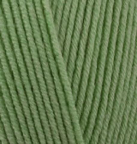 Пряжа Cotton gold (Alize) 485 зеленый, фото