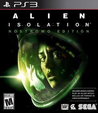 Sony PS3 Alien: Isolation - Nostromo Edition (английская версия)