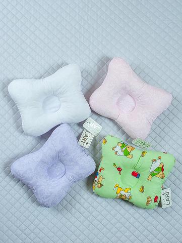 Подушка ортопедическая (разноцветный, бязь, (30*25))