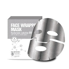 Berrisom Face Wrapping Mask Hyaruronic Solution 80 - Маска для лица с гиалуроновой кислотой