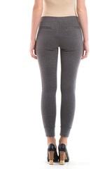 Спортивные брюки для беременных цвет серый меланж