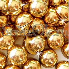 Купить полужемчуг оптом Gold золотой в интернет-магазине
