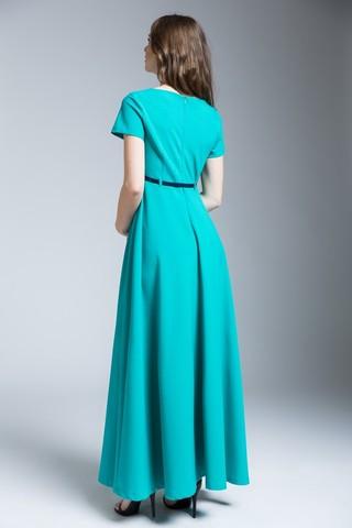 Платье 09274 зеленый