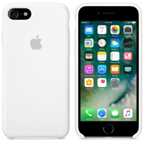 iPhone 7/8 Silicone Case  Белый