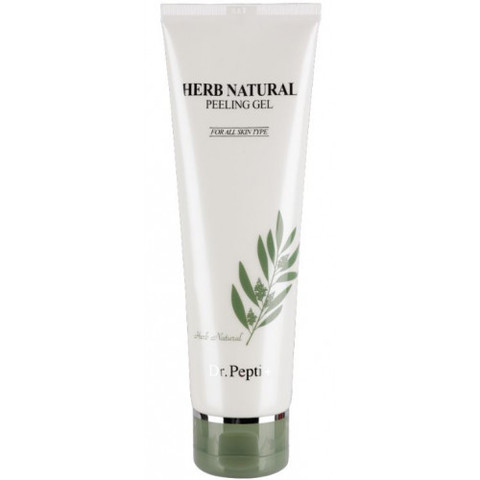 Пилинг-гель для лица Dr Pepti Herb Natural