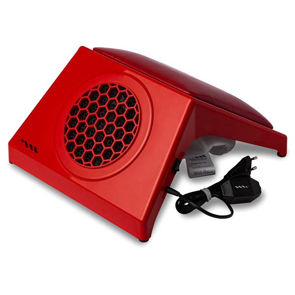 Настольная вытяжка для маникюра MAX Ultimate 4 Красный (65Вт max), с подушкой RED фото