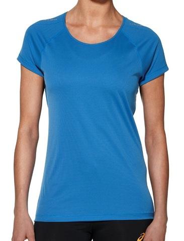 Женская футболка Asics SS Top для бега Blue