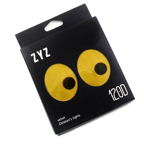Колготки Micro VELVET 120D Горчичные Рост 115 см - 128 см (6-8 лет)