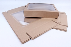 Коробка-трансформер Крафт 16х16 h=3 см.