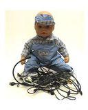 Полукомбинезон - На кукле. Одежда для кукол, пупсов и мягких игрушек.