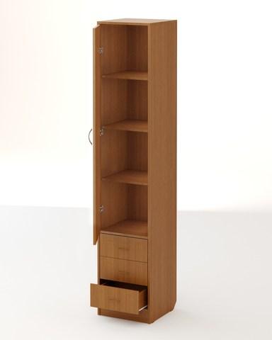 Шкаф-пенал АЯС-03 бук темный