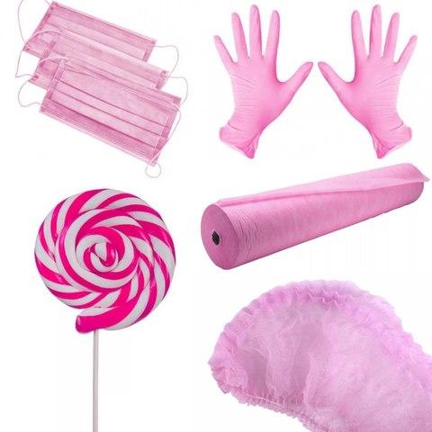 Комплект розовый