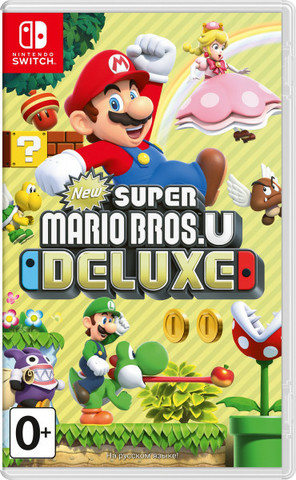 NS: New Super Mario Bros. U Deluxe (русская версия)