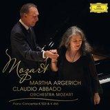 Martha Argerich, Orchestra Mozart, Claudio Abbado / Mozart: Piano Concertos K 503 & K 466 (LP)