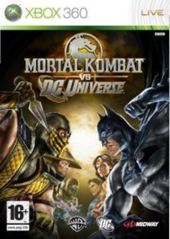 Microsoft Xbox 360 Mortal Kombat Vs. DC Universe (Classics) (русская документация)