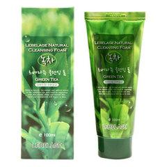 Lebelage Green Tea Cleansing Foam - Пенка для умывания с зеленым чаем