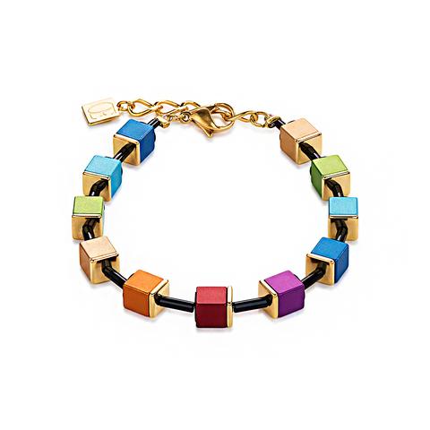 Браслет Coeur de Lion 4892/30-1500 цвет мультиколор, золотой