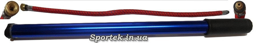 Стандартный ручной узкий велосипедный насос под автомобильный нипель