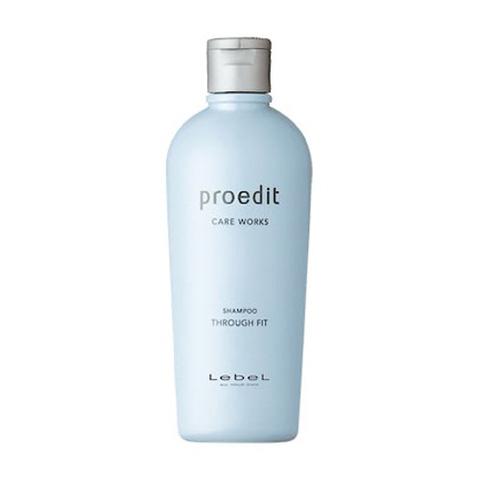 Lebel Proedit Through Fit Shampoo - Шампунь для прямых непослушных волос 300 мл