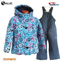 Комплект для девочки зима Salve 3163 sky blue