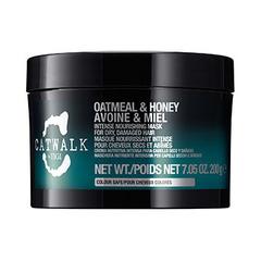 TIGI Catwalk Oatmeal & Honey Intense Nourishing Mask - Интенсивная маска для питания сухих и ломких волос