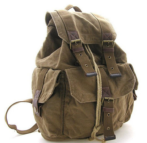 Винтажный рюкзак из ткани Virginland VIR-55