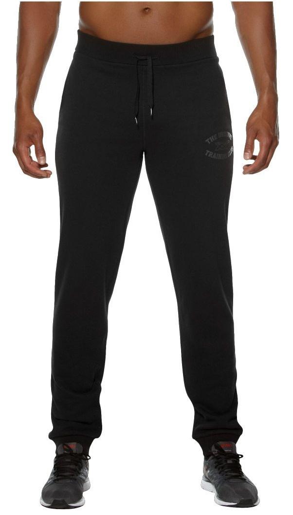 Мужские тренировочные штаны Asics Graphic Cuffed Pant (131534 0904) черные