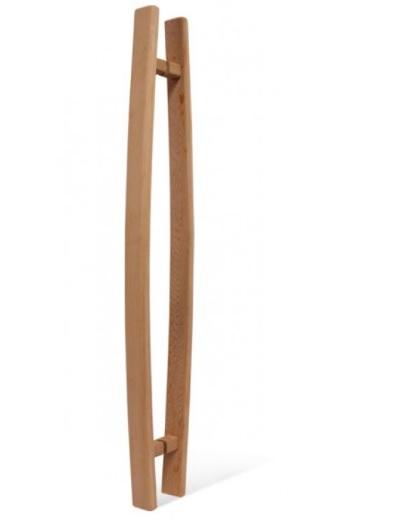 Для дверей: Ручка для двери SAWO 558-D (741 и 742, кедр, закругленная) двери дверь sawo 741 3sgd l 3 7 19 бронза левая без порога кедр прямая ручка с металлической вставкой