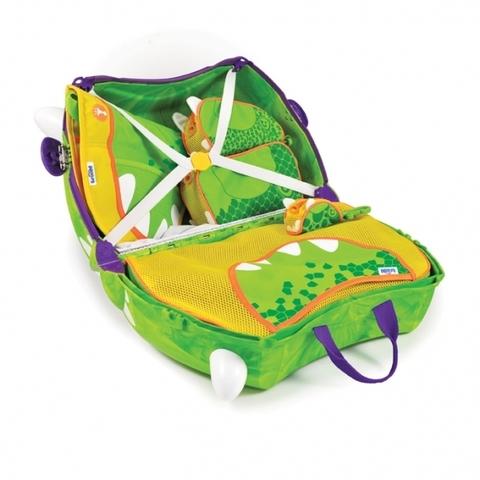 Детский чемодан на колесиках Trunki Trunkisaurus Rex  напрокат