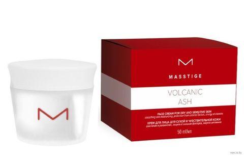 MASSTIGE Volcanic ASH Крем для лица для сухой и чувствительной кожи 50мл