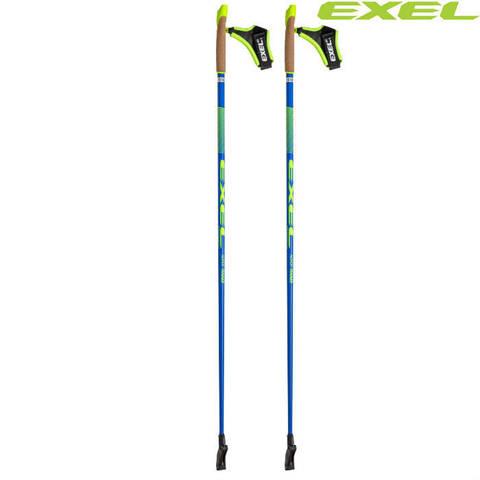 Скандинавские палки EXEL Nordic Trainer OEB QR CArbon 50%