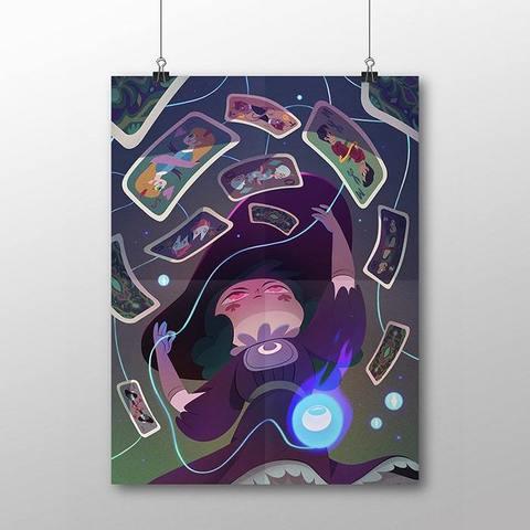 Плакат с Эклипсой
