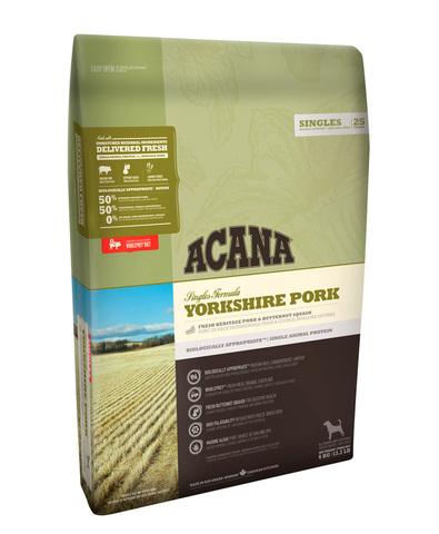 Acana Singles Yorkshire Pork корм беззерновой для собак (свинина/мускатная тыква) 2 кг