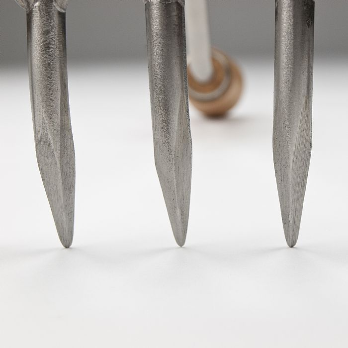 Грабли садовые малые Sneeboer, нержавеющая сталь, ручка из вишни