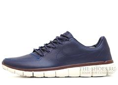 Кроссовки Mужские Nike Free Run 5.0 Blue Leather