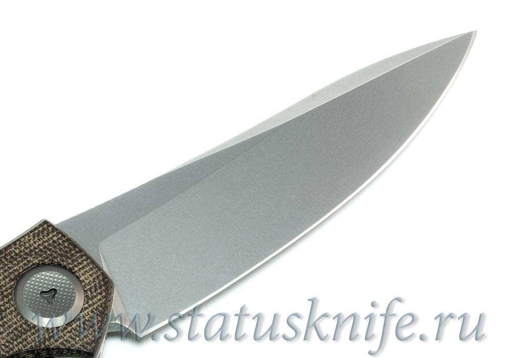 Нож Широгоров Cannabis True RWL34 SIDIS дизайн - фотография