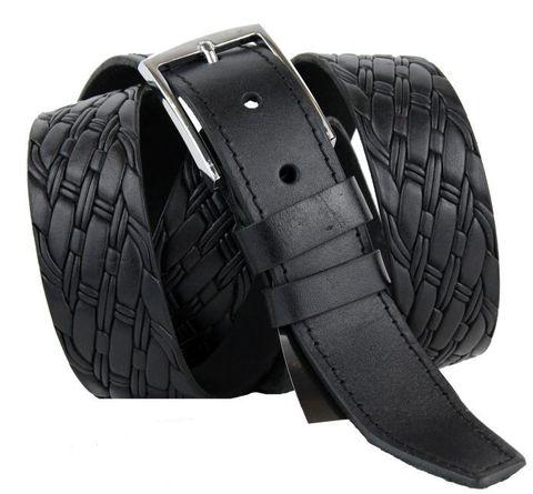 Ремень мужской для брюк большого размера 35 мм 35NS-B-008